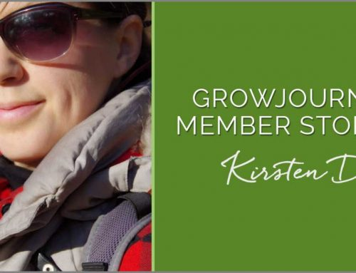 GrowJourney Member Story: Kirsten Drickey from Bellingham, WA